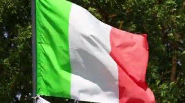 Italy flag — Stock Video