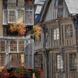 Постер, плакат: Medieval timber framed buildings in Dinan