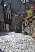 Medieval timber-framed buildings. — Stok fotoğraf