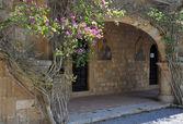 Frescoes at Ialyssos Monastery Rhodes — Stock Photo