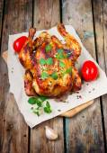 Whole Roasted Chicken — Stock Photo