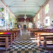 Beautiful Catholic Church in an exotic country indoors — Stock Photo #57505927