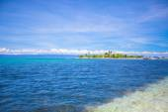 Perfekte tropische Insel Puntod in Philippinen — Stockfoto