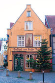 Old district in Bremen, Germany — Stock Photo