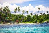 Perfeito tropical island Puntod nas Filipinas — Fotografia Stock