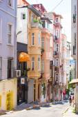 Old street in turkish city — Stock Photo