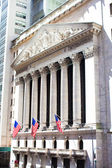 New York Stock Exchange in Manhattan Finance district — Stock Photo