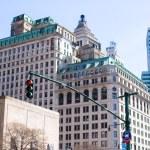 New York City skyscrapers at Manhattan — Stock Photo #64875055