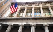 New York Stock Exchange in Manhattan Finance district — Foto de Stock