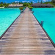 Beautiful tropical view of perfect ideal island — Stock Photo #75859931