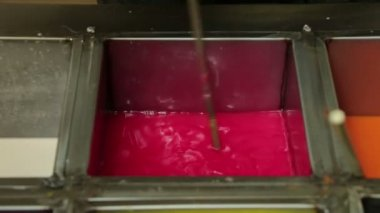 Pink Candle Wax — Stock Video