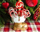 Christmas candys — Stock Photo