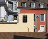Town windows — Zdjęcie stockowe