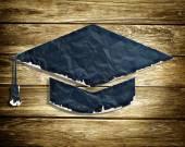 Graduation paper cap — 图库照片