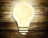 Innovation light bulb — Stock Photo