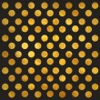 Gold Polka Dot Pattern — Stock Photo #68031911