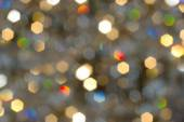 Bokeh, Christmas lights blurred in the background — Stock Photo