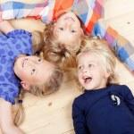 Laughing girls having fun together — Stock Photo #52748025
