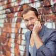 Man Talking on Phone — Stock Photo #61942983