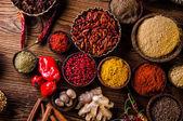 Oriental theme with seasoning — Stock Photo