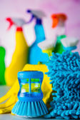 Vivid colors in washing concept — Stok fotoğraf