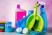 Washing, cleaning theme — Stock Photo