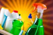 Washing up, cleaning theme — Stock Photo