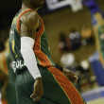 Постер, плакат: Baloncesto Seville vs CEZ Nymburk Eurocup Basketball round 5