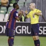 Real Betis vs Barcelona B day 12 of spanish League Adelante — Stock Photo #57993553