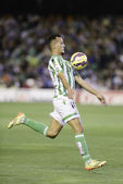 Real Betis vs Barcelona B day 12 of spanish League Adelante — Stock Photo