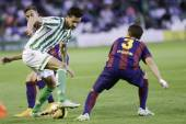 Real Betis vs Barcelona B day 12 of spanish League Adelante — Stock Photo
