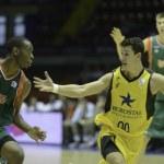 ACB League - Baloncesto Sevilla vs Iberostar Tenerife — Stock Photo #58010447
