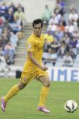 Getafe vs Malaga Liga BBVA jornada 6 — Stockfoto