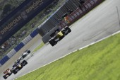 Race 1 Formula 3.5 at Jerez ciurcuit — Stock Photo