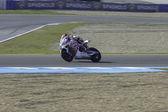 Superbikes Test Day 1 — Stock Photo