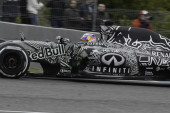 Formula 1 test in Jerez — Stock Photo