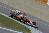 Prueba de la fórmula 1 en Jerez — Foto de Stock