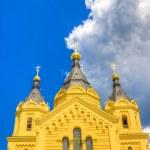 Alexander Nevsky Cathedral Nizhny Novgorod region Russia — Stock Photo #52416169