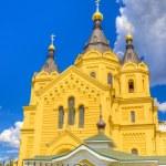 Alexander Nevsky Cathedral Nizhny Novgorod region Russia — Stock Photo #52416179