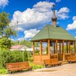 Alexander Nevsky Cathedral Nizhny Novgorod region Russia — Stock Photo #52416237