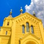 Alexander Nevsky Cathedral Nizhny Novgorod region Russia — Stock Photo #52416245