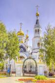 Pokrovskoe-Tatianinsky Cathedral Cheboksary Russia — Photo