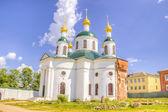 Russia Epiphany nunnery Fedorovskaya Church Uglich — Foto de Stock