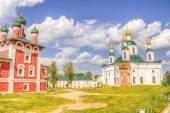 Russia Epiphany nunnery Fedorovskaya Church Smolensk icon Mother — Foto de Stock