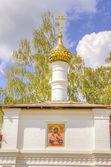 Russia Resurrection monastery Uglich — Stock fotografie