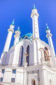 Kazan Russia mosque Kul Sharif — Stock Photo