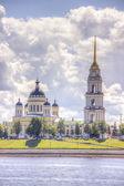 Spaso-Preobrazhensky Cathedral Rybinsk — Foto de Stock