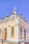 Russia Chapel  St. Nicholas Wonderworker  Rybinsk — Stock Photo