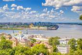Top view  center  Nizhny Novgorod — Stock Photo