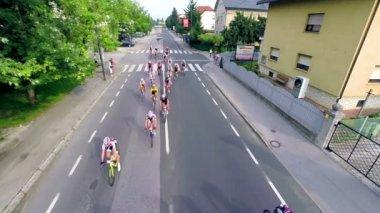 UCI World Cycling Tour — Vídeo de stock
